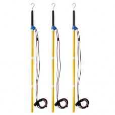 Powersight 15KVPSET 15K Voltage Probe Set with Hot Sticks, 3-Pack