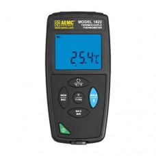 AEMC 1822 (2121.75) Dual-Channel Thermocouple Thermometer with Datalogging and Dual-line Display