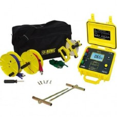 AEMC 4620 KIT-150FT (2135.19) 4-Point Digital Ground Resistance Tester Kit with 150ft Leads for 3-Point Testing