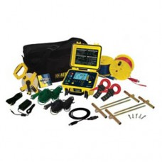 AEMC 6471 KIT-300FT (2135.50) 2-Point, 3-Point and 4-Point Digital Ground Resistance Tester Kit with 300 ft