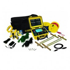 AEMC 6472 KIT-300FT (2135.53) 2-Point, 3-Point and 4-Point Digital Ground Resistance Tester