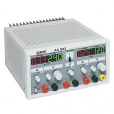 AEMC AX503 (2130.07) Triple Output Power Supply