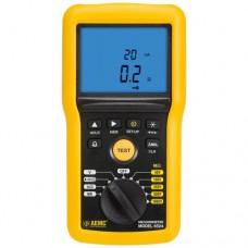 AEMC 6524 (2155.52) Digital Megohmmeter, 50V-1000V with Analog Bargraph, Alarm and Memory