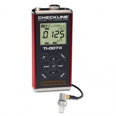 Checkline TI-007X Precision Ultrasonic Wall Thickness Gauge kit with T-402-5507 probe
