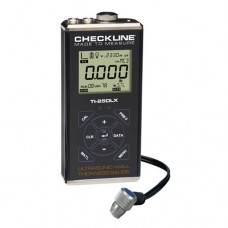 Checkline TI-25DLX Data Logging Ultrasonic Wall Thickness Gauge Kit with T-102-3300 Probe