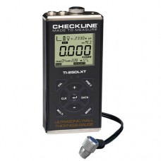 Checkline TI-25DLXT Data Logging Thru-Paint Ultrasonic Thickness Gauge Kit with T-102-2700 Probe