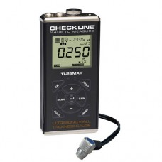 Checkline TI-25MXT Through-Paint Ultrasonic Thickness Gauge Kit with T-102-2700 Probe