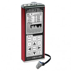 Checkline TI-CMXDL Data Logging Combination Coating & Wall Thickness Gauge kit with T-102-2900 probe