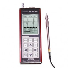 Checkline TI-PVX Precision Ultrasonic Thickness Gauge with 10MHz Pencil Probe, T-481-4507