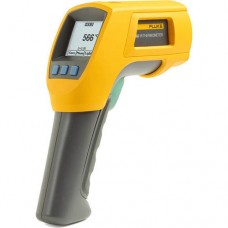 Fluke 566 Infrared and Contact Thermometer, -40-1202°F Range, 30:1 Ratio