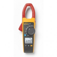 Fluke 375 FC Wireless True-RMS AC/DC Clamp Meter with Fluke Connect Compatibility and VFD, 600A AC/DC, 600V AC/DC