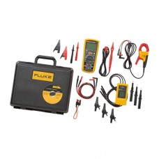 Fluke 1587/MDT FC TTrue-RMS Megohmmeter Combo Kit with Fluke Connect Compatibility, AC Current Clamp and Three-Phase Rotation Indicator