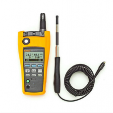 Fluke 975V AirMeter, Indoor Air Quality Tester with Air Velocity Probe