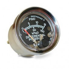 Murphy  A20DP-K-15 (05700455) Differential Pressure Swichgage® with Polycarbonate Case and Adjustable Knob