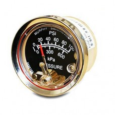 """Murphy A20P-100 (05704255) 2"""" Pressure Swichgage® with Polycarbonate Case"""