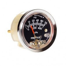 """Murphy A25P-HL-75 (05704357) 2.5"""" Pressure Swichgage® with Polycarbonate Case"""