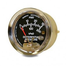 Murphy A25DP-30 (05700350) Differential Pressure Swichgage® with Polycarbonate Case