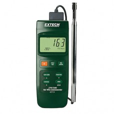 Extech 407119 Heavy Duty CFM Hot Wire Thermo-Anemometer