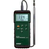 Extech 407123 Heavy Duty Hot Wire Thermo-Anemometer Airflow Meter