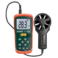 Extech AN100 CFM/CMM Mini Thermo-Anemometer Large Display