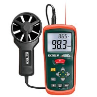 Extech AN200 CCFM/CMM Mini Thermo-Anemometer with Built-In Infrared Thermometer