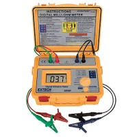 Extech 380580 Battery Powered Milliohm Meter High Accuracy/Resolution