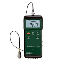 Extech 407860 Heavy Duty Digital Vibration Meter Acceleration (200m/s2 Velocity: 200mm/s)