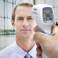 Extech IR200 Non-Contact Forehead Infrared Thermometer, 89.6 to 108.5°F