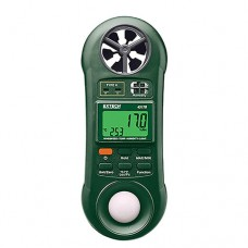Extech 45170 Hygro-Thermo-Anemometer-Light Meter Pocket Size 4-in-1