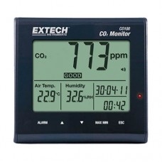 Extech CO100 Indoor Air Quality CO2 Monitor Measures CO2 Air Temperature & Humidity