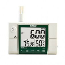 Extech CO230 Wall Mounted Indoor Air Quality Carbon Dioxide Meter