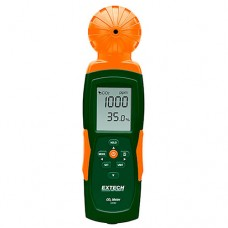 Extech CO240 Indoor Air Quality Meter Measures Carbon Dioxide (CO2) Air Temperature & Humidity