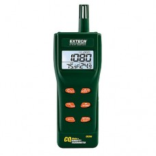 Extech CO250 Portable Indoor Air Quality Meter Measures: CO2/Temp/Humidity/Dew Point/Wet Bulb