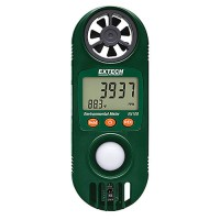 Extech EN100 Compact Hygro-Thermo-Anemometer with Light Sensor