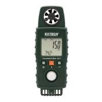 Extech EN510 10-in-1 Environmental Meter, Type K