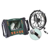 Extech HDV650-30G Plumbing VideoScope Kit (25 mm Camera Head w/30 m Fiberglass Cable)