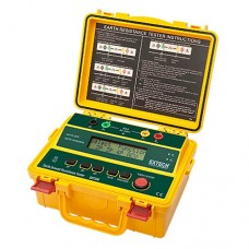 Extech GRT300 4-Wire Earth Ground Resistance Tester 4 Ranges from 2 to 2000 Ohm