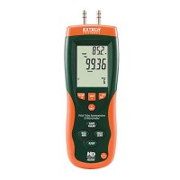Extech HD350 Pitot Tube & Anemometer & Differential Manometer