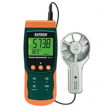 Extech SDL300 Metal Vane Thermo-Anemometer/Datalogger with SD Card