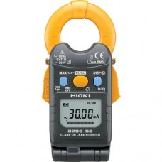 Hioki 3293-50 True-RMS AC Leakage to Load Current Clamp Meter, 1000A with Innovative Flip Design