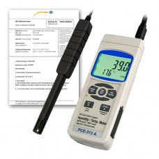 PCE-313A-ICA Air Humidity Meter incl. ISO Calibration Certificate