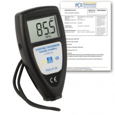 PCE-CT 28-ICA Coating Thickness Gauge incl. ISO Calibration Certificate