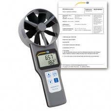 PCE-VA 20-ICA Multifunction Air Flow Meter incl. ISO Calibration Certificate