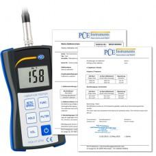 PCE-VT 2700 Accelerometer  Incl. ISO Calibration Certificate