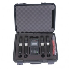 Powersight PK35014 PS3500 Power Analyzer System Kit, 4 x HA100 100 Amp Current Probes, Bluetooth and SD Card Slot, Case