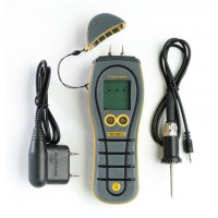 Protimeter BLD5605 Timbermaster Handheld Moisture Meter with Moisture and Temperature Probe