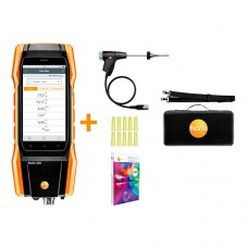 Testo 300-RC-KIT (0564 3002 82) Residential / Commercial Combustion Analyzer Kit with Smart-Touch Technology, O2 & CO Sensors