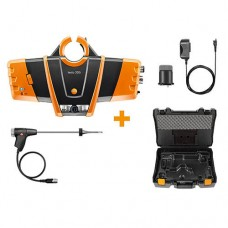 Testo 330i-LX-KIT1 Bluetooth Combustion Analyzer Kit #1 with Flue Gas Probe and Probe Mount