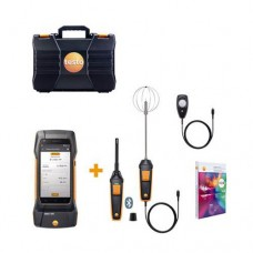 Testo 400-COM-KIT (0563 0409) Comfort Kit with 400 Universal IAQ Instrument, Bluetooth Humidity/Temperature Probe