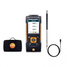 "Testo 440-SV-KIT (0563 4401) Small Vane Kit with 440 Air Velocity and IAQ Measuring Instrument, 0.63"" Vane Probe"
